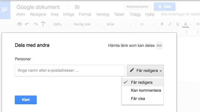 Play AVMedia Visar Google Dokument - Google dokument